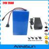 700W 24V 20ah elektrische Fahrrad-Batterie