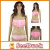 Reeks van de Bikini van de Vrouw van de Strandkleding van de Zwempakken van het Stootkussen van de Bustehouder van de leeswijzer de Sexy (KS6101010)