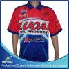 De Overhemden van het Ras van de Bemanning van de Kuil van de Motorfiets van de Mensen van de Druk van de Sublimatie van de douane