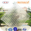 Roofing transparente Polycarbonate Hollow Sheet para Agricultural Greenhouse