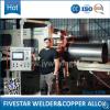 8-10 Trommeln pro minimale automatische Nahtschweißung-Maschine für die Herstellung der Stahltrommel-210L