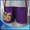 Sublimation personalizado Ladies Lacrosse Team Short para Sports