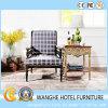Empollón moderno del restaurante de los muebles del hotel de la sala de estar que cena la silla de madera
