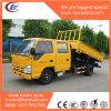 노란 색깔 600p 4X2 6 시트 덤프 수송 트럭