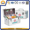 Aluminium-Erste-Hilfe-Ausrüstung mit Beutel für Erste HILFEen-Produkte (HMC-1010)