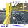 Reja de acero del HDG de la alta calidad con la barandilla