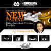 Parentesi bassa Ce0197 ISO13485 di attrito della parentesi della nuova Indicatore-Forza ortodontica di brevetto