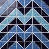 2017 reticoli di ceramica del triangolo del mosaico della nuova piscina di disegno
