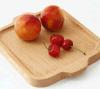 Madera natural del color de la nueva manera el disco de la fruta del estilo de la haya