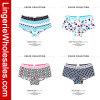 Furnace Colors Women Printing Brief Underwear