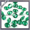 Óvalo flojo resistente de alta temperatura 10 x de la piedra preciosa de la venta caliente verde nano 14