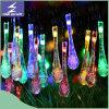 LED-angeschaltene Wasser-Absinken-Zeichenkette-Solarlichter für Weihnachten