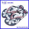 Sandalo del pistone delle ragazze di modo con stampa del fiore
