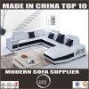 Heiße Verkäufe steuern Möbel-oberstes ledernes Sofa 2204 automatisch an