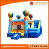 Im Freien Handelsballon-Spielzeug-aufblasbares springendes Schloss mit Plättchen (T3-112)