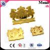 자유로운 디자인 주문 금 핸드백 금속 레이블