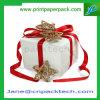 Rectángulo de papel de empaquetado del rectángulo del regalo de la cartulina de Christma de encargo de la caja de embalaje