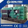 Diesel silenciado del conjunto de generador de 100kw 125kVA con Cummins 6BTA5.9-G2