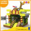 Theater van de Uitsmijter van Combo van de Auto van de Giraf van het Speelgoed van jonge geitjes het Dierlijke Opblaasbare met Dia (AQ01782)