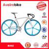 700c 도로 자전거 강철 합금 알루미늄 백색 색깔 조정 기어 자전거 프레임 판매를 위한 싸게 백색 노란 색깔 26inch 조정 자전거