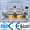 Elucky Two Heads High Speed 1200spm Ebroidery Machine