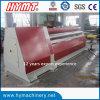 Máquina de rolamento de dobra hidráulica universal da placa W12S-16X3200 de aço