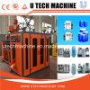 Automatische doppelte Station-Strangpresßling-Blasformen-Maschine