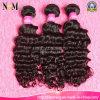 Weave способа, самые лучшие глубокие волнистые, дешевые перуанские человеческие волосы