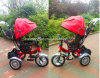 Triciclo do bebê de 2016 crianças com o triciclo do punho do impulso/roda dos miúdos 3 para a venda