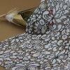 Tissus de lacet de cordon de coton de crochet de broderie pour des accessoires de vêtements