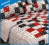 Rolling dobbelt de Reeks van het Beddegoed van de Dekking van het Dekbed van de Polyester
