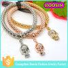 Modo Eastern Jewelry Religious Sterling Silver Skull Charm per Bracelet