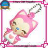 Mode 3D Rubber Key Chain pour Gift