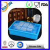 Fabricante de gelo do silicone do quadrado do produto comestível