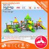 Diapositiva al aire libre comercial del túnel del patio del juego popular de los niños del precio de fábrica