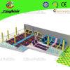 Parc de cour de jeu de tremplin personnalisé par qualité de la CE TUV