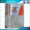 Изготовленный на заказ Desk Flag с Wooden Поляк и Stand (T-NF09W01015)