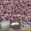 La Cina Natural Stone Red Porphyry Cube Stone/Cobble Stone per Paving