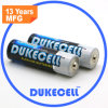 батарея батареи Lr6 Am3 сухого элемента 1.5V