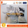 Перчатки Спилковые Комбинированные Пятипалые Рабочие Перчатки (DLC212)