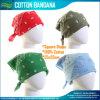 卸し売り価格設定の男女兼用の方法100%年の綿の印刷のバンダナ