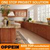 Oppein kundenspezifische Projekt Belüftung-Landhaus-Küche-Schränke (OP14-PVC09)