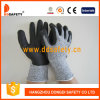 Пена нитрила ультратонкая на ладони/верхних перчатках Резать-Сопротивления перста (DCR420)