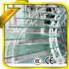 Balcon 12mm Tempered Glass Price m2 avec du CE d'OIN de GV
