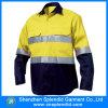 Camicia riflettente di nuova di modo 2016 sicurezza uniforme del lavoro per gli uomini
