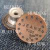 Кнопка хвостовика металла способа высокого качества красивейшая одежды (HD1127-15)