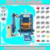 Bloco automático da maquinaria do tijolo da construção da qualidade superior que faz a máquina
