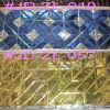 Lassen van de Tegel van het kristal de Gouden voor de Decoratie van de Muur