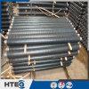 Tubos aletados embutidos espiral del cambiador de calor para las piezas del calentador