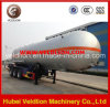 ASME Standard Volume 56cbm LPG 3 Axle Semi-Trailer
